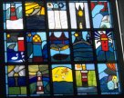2nd Primary stained glass window